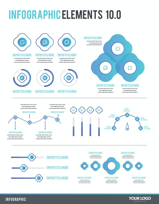 Infographic Examples for Designer V.10 - product preview 0