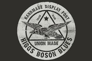 Thumbnail for Higgs Boson Blues handmade OpenType SVG color font