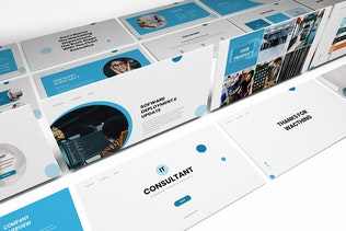 Thumbnail for IT Consultant Keynote Template