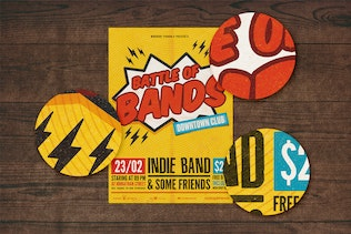 Battle of Bands Poster