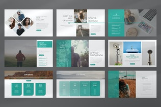 Thumbnail for ALost Business Creative Powerpoint