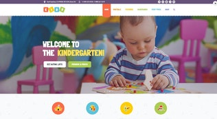 Thumbnail for Kids - Day Care & Kindergarten WordPress Theme