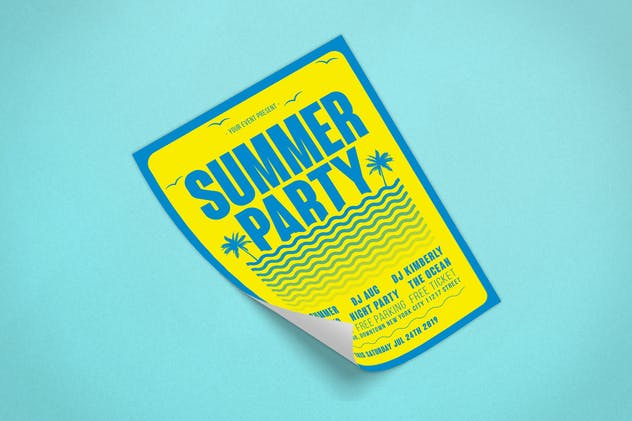 Summer Flyer - product preview 2