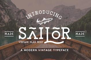 Miniature pour The Sailor Vintage Polices de caractères