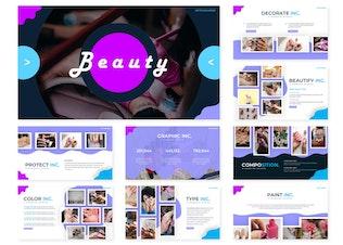 Миниатюра для Красота | Шаблон слайдов Google