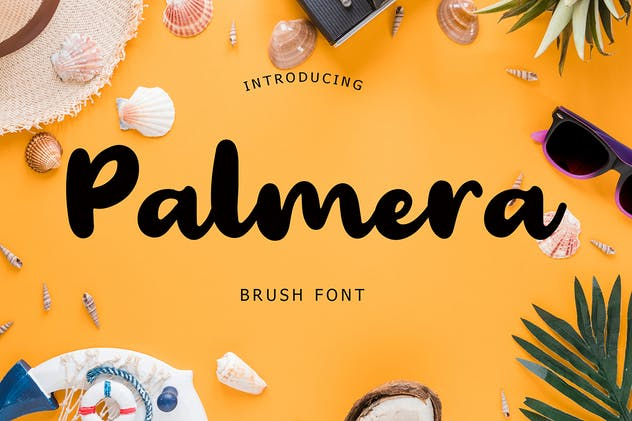 Palmera Brush Font - product preview 5
