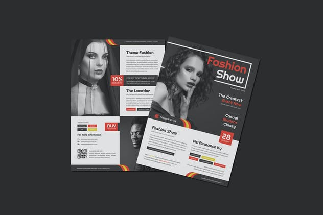 Fashion Show Flyer - product preview 2