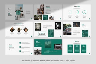 Plastique Creative Business Powerpoint