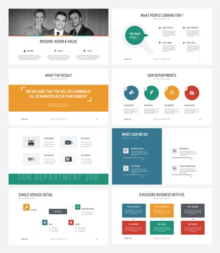 Thumbnail for TAMBON - Multipurpose PowerPoint Template V32