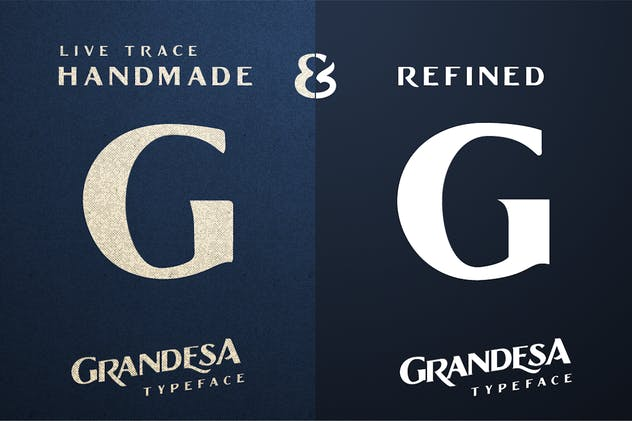 Grandesa Typeface - product preview 2