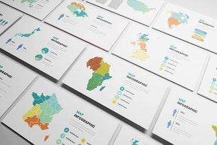 Thumbnail for Maps Infographic Google Slides Template