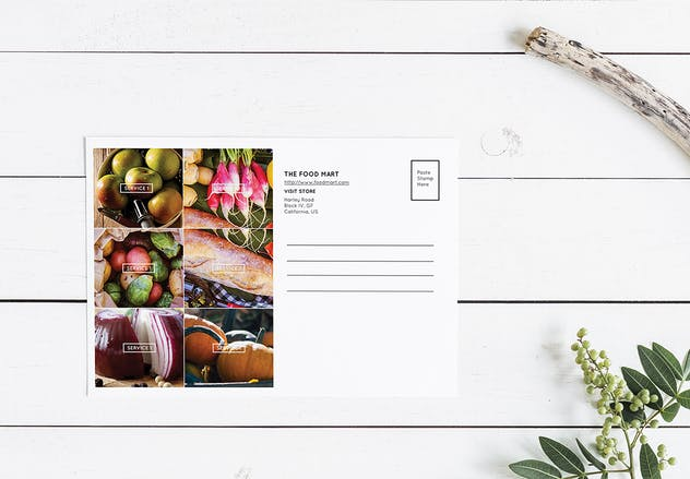 Foodmart Postcard – Promotional - product preview 0