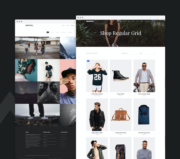 Warhol - Creative Multipurpose HTML Template - product preview 0