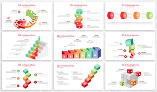 Thumbnail for 3D Infographics For Powerpoint Presentation