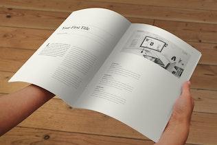 Thumbnail for Minimal Black & White Magazine