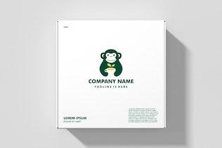 Thumbnail for Monkey Tea Leaf Herb Logo
