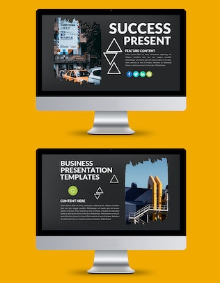 Thumbnail for Success Keynote Template