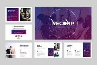 Thumbnail for Recorp - Business Keynote Presentation