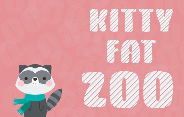Kitty Fat - Stripes - product preview 2