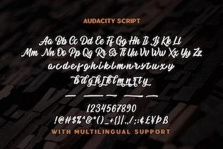 Миниатюра для Сценарий Audacity - Приключения Typeface