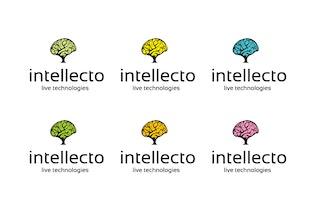 Thumbnail for Intellecto logo template