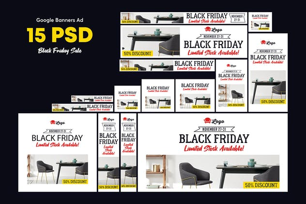 Black Friday Banners Ad