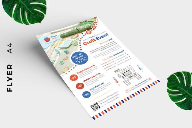 Craft Event Flyer Design