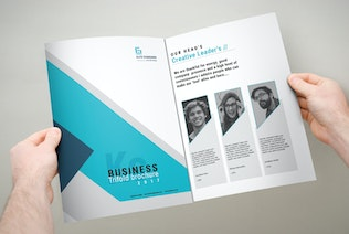 Thumbnail for Trifold Brochure A4x3