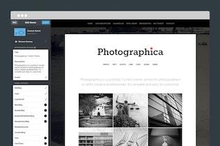 Thumbnail for Photographica Tumblr Theme