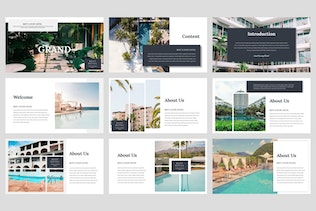 Thumbnail for Grand - Hotel PowerPoint Template