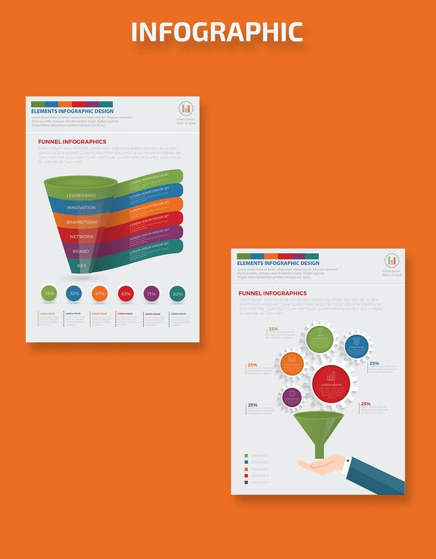 Filter Funnel Infographics Design - product preview 4