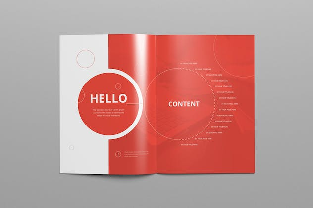 Annual Report A4 & Us Letter - product preview 2