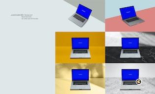 Thumbnail for Macbook Laptop Display Web App Mock-Up