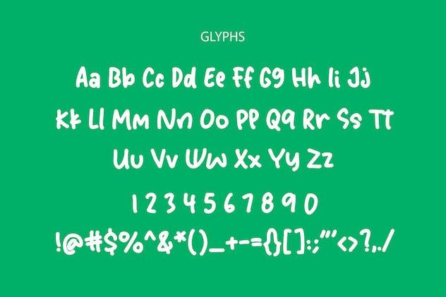 Buena Amigo Handwritten Font - product preview 8