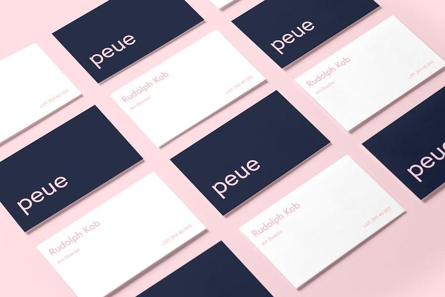 Preview image 12 for Peue - Реалистичный макап для визитных карточек