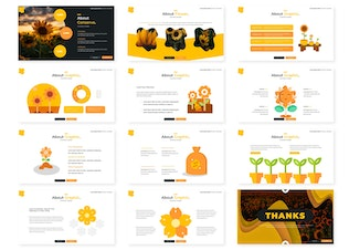 Flower | Keynote Template
