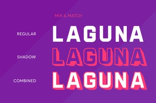 Laguna Layered Font Duo