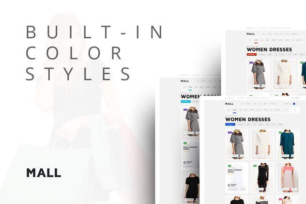 Mall — Multi-Purpose eCommerce Responsive Template - product preview 0