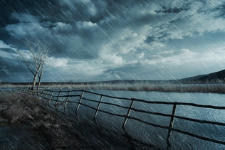 Миниатюра для Дождь Photoshop действие