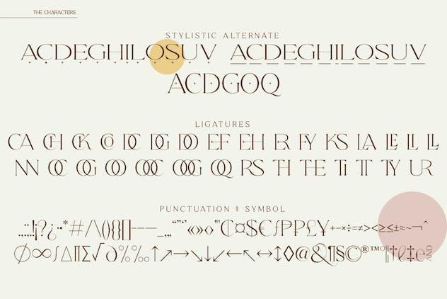 Qene-G - Serif & Signature Script Font Duo - product preview 2