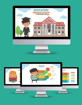 Thumbnail for Education Powerpoint Presentation