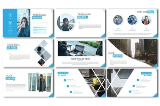 Thumbnail for Water Business Template