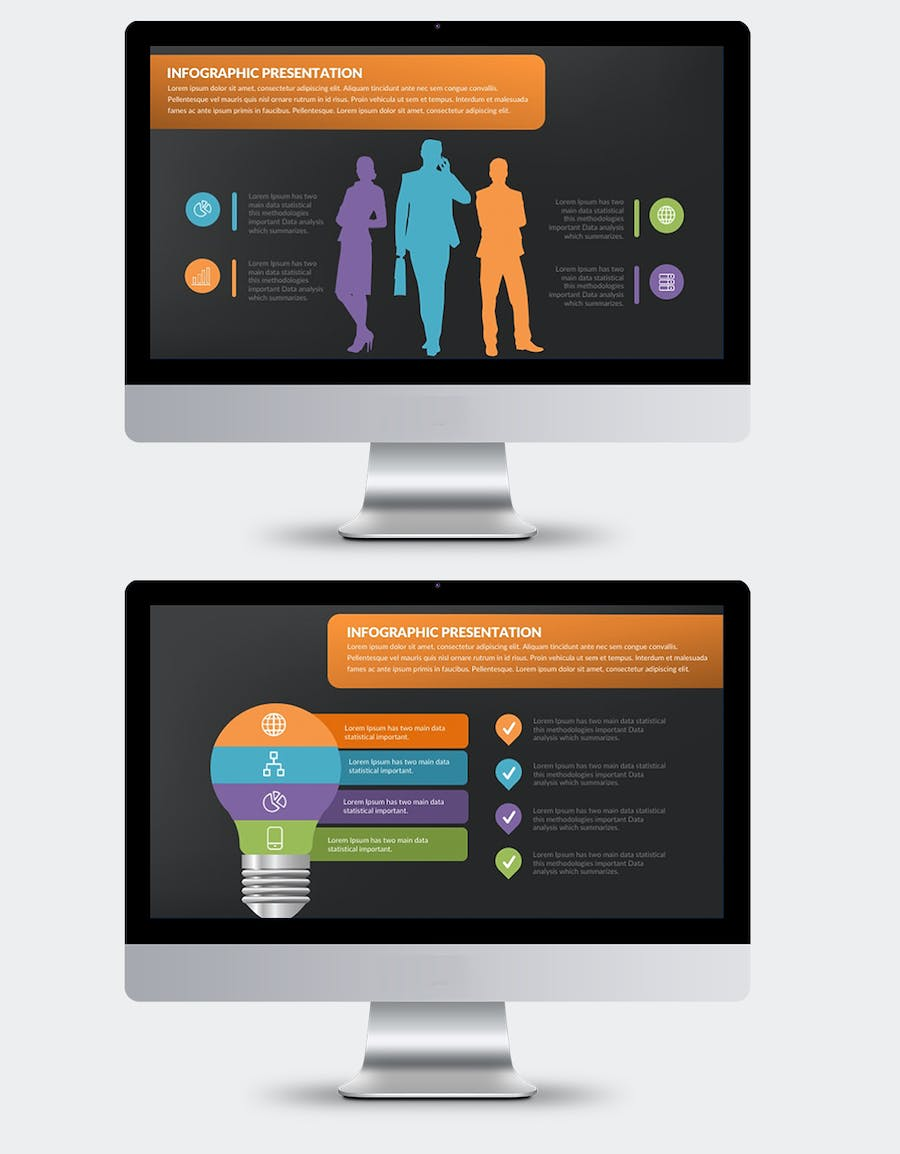 Infographics Keynote Presentation - product preview 1