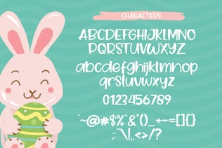 Thumbnail for Goo Easter Font