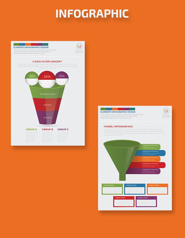 Filter Funnel Infographics Design - product preview 8