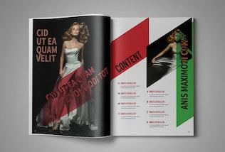 Thumbnail for Multipurpose InDesign MagazineTemplate