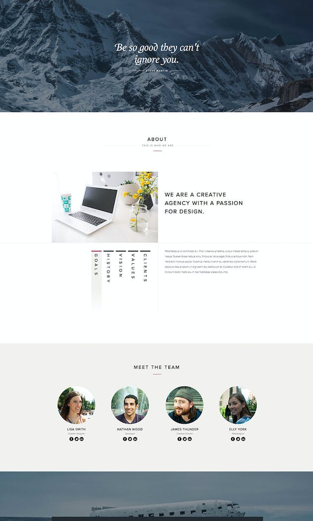Kalyso - Multipurpose Muse Template for Creatives - product preview 1