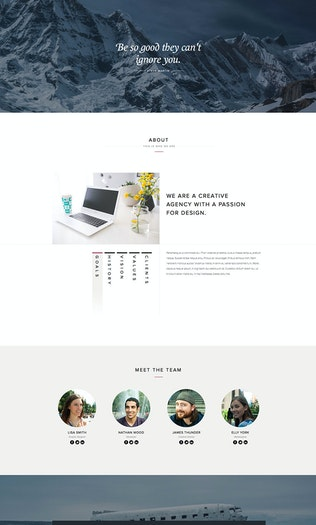 Thumbnail for Kalyso - Multipurpose Muse Template for Creatives