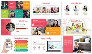 Thumbnail for Childhood - Playful Google Slides Template