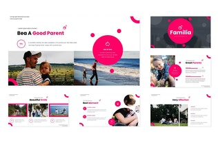 Thumbnail for Familia - Powerpoint Template